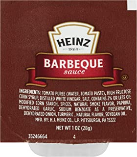 Heinz Barbeque Sauce Single Serve (1 oz Dunk Cups, 100 Count)