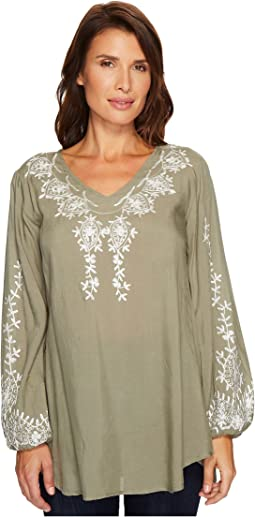 Scully - Cleo Embroidered Top