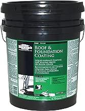 Black Jack 6190 Roof and Foundation Liquid Asphalt Coating, 5-Gallon Pail