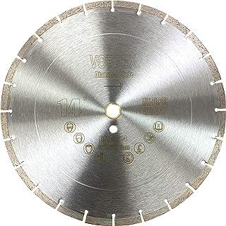 "20/"" x .100/"" Supreme Sintered Segmented Rim Diamond Lapidary Blade 1/"" Arbor"