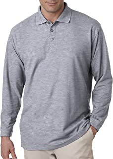 Men's Long Sleeve Whisper Piqué Polo