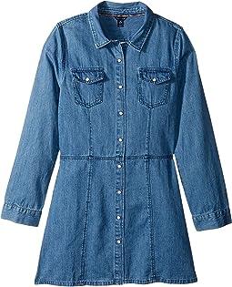 Tommy Hilfiger Kids - Denim Dress (Big Kids)