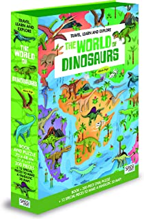 Sassi Junior YES67350468 Travel, Learn And Explore. The World of Dinosaurs 6 Years & Above