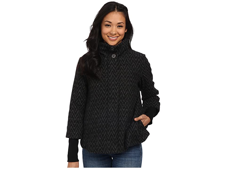 Prana Lily Jacket (Black) Women