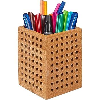 ZRI Bamboo Stiftebox Stiftehalter Stifteköcher Holz - für
