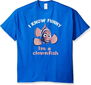 Disney Men's Finding Nemo Funny How T-Shirt