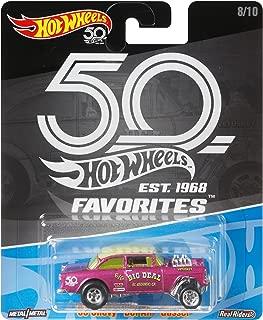 Hot Wheels 50th Anniversary Favs 55 Chevy Bel Air