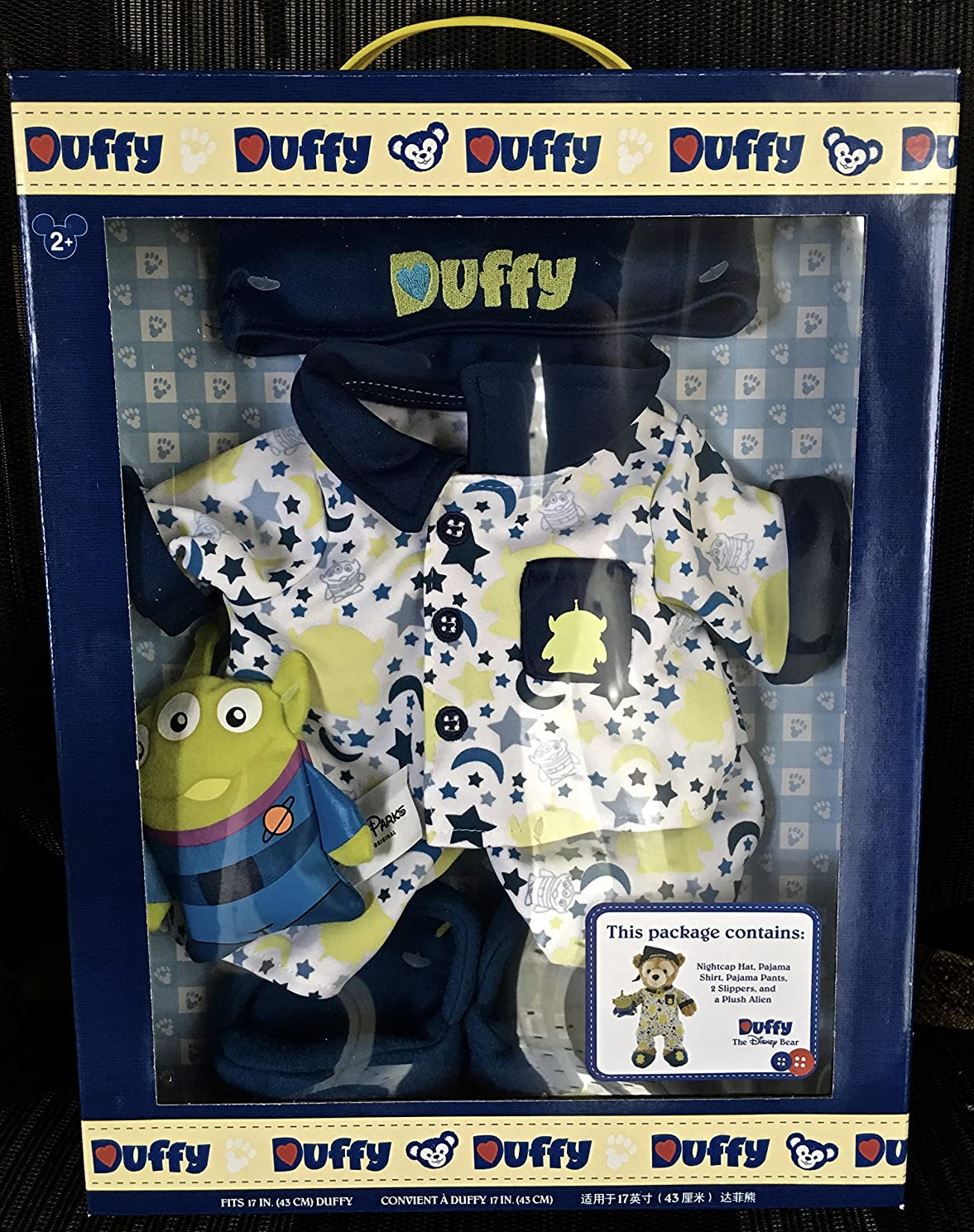 Disney 17 in Duffy Bear Clothes Boxed Set Toy Story Pajamas with Alien Doll NEW qttaklgsyss1647