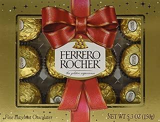 Ferrero Rocher Holiday Gift Box 12 Pralines 5.3oz
