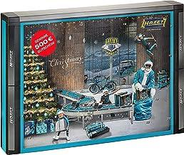 HAZET Santa Tools 2021 Adventskalender voor heren, met gereedschap, 28-delig met gereedschap, wereldprimeur, in extra ant...