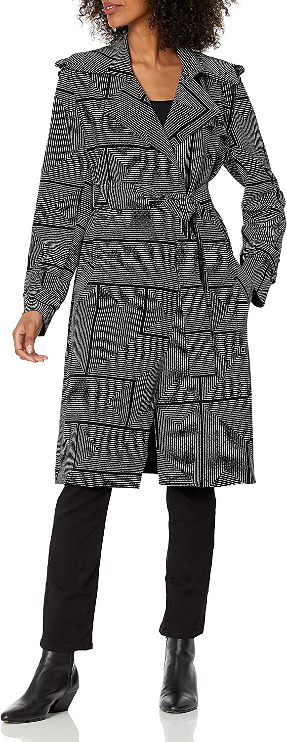 Norma Kamali Women's Double Breasted Trench