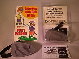Leister's Golfer Foot Wedge Novelty Gag Gift