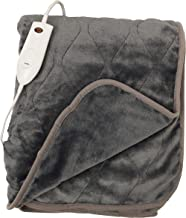 Quilted Secure Comfort Technology Electronic Heated Throw Blanket 51