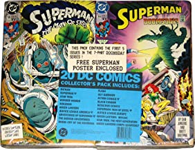 The Death of Superman 20 DC Comics Collector's Pack with 1st Appearance of Doomsday
