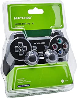 Joystick Dual Shock Para Pc Multilaser - JS030