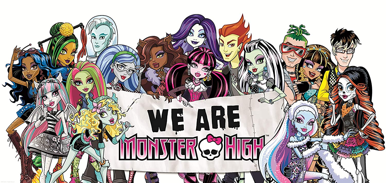 Monster High Movie Poster Mail order cheap Po Art Max 61% OFF Print Wall