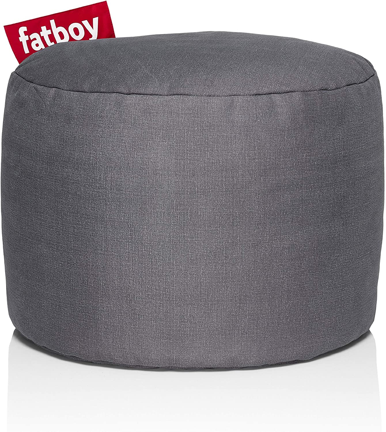 Fatboy PNTSTW-Gry Point Stonewashed Bean Bag, Grey