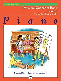 Alfred's Basic Piano Library Musical Concepts, Bk 2: