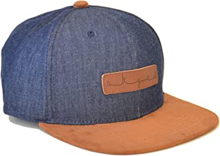 Skyed Apparel Snapback Hat Collection with Genuine Leather Strap (Multiple Colors)