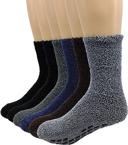 21-27 zur Wahl Lustige warme Socken mit Noppen home socks Fliesenflitzer Gr