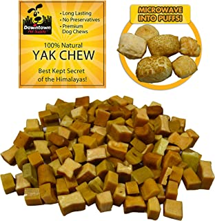 Downtown Pet Supply Himalayan Yak Nugget Dog Chew, 100% Natural Dog Chews, Value Pack