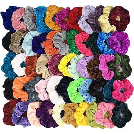 handmade hair scrunchies Red Victorian rose garden hair scrunchie premium cotton hair scrunchies Hair Scrunchie with tie