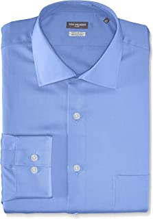 Van Heusen Men's Flex Regular Fit Solid Spread Collar...