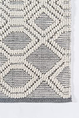 Rug Squared Bay Hill Shag Area Rug 3 Feet 11 Inches By 5 Feet 11 Inches Latte Furniture Decor