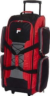 "Fila unisex-adult Fila 32"" Large Lightweight Rolling Duffel Bag"