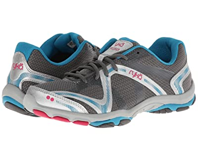 Ryka Influence (Steel Grey/Chrome Silver/Diver Blue/Zuma Pink) Women