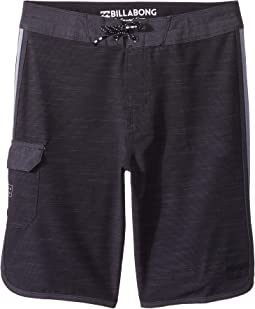 Billabong Kids 73 X Boardshorts (Big Kids)
