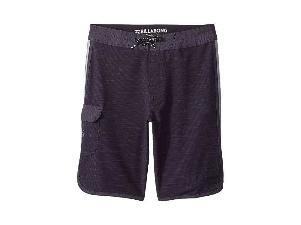 Billabong Kids 73 X Boardshorts (Big Kids) (Black) Boy
