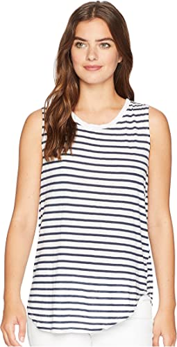 Riviera Stripe Shift Tank Top