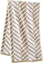 Lacoste Herringbone 100% Cotton Towel, 30x54 Bath, Sand