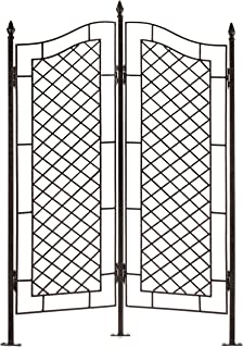 custom wrought iron trellises