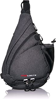 Crossbody Sling Bag by ZroLimits - Lightweight Travel Daypack - Men or Women - Outdoor Hiking - Fishing - Bike Riding - Amusement Parks - Sports or Gym - Reversible Single-Strap - Shoulder Backpack