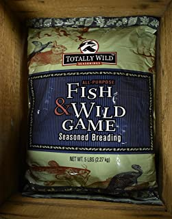 Fish & Wild Game Seasoned Breading - 1 - 5# Bag