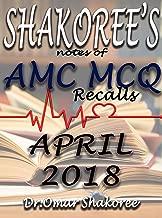 SHAKOREE's NOTES OF AMC MCQ Recalls APRIL 2018