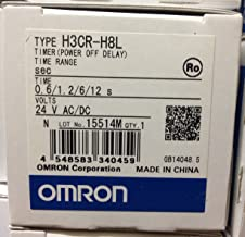 OMRON INDUSTRIAL AUTOMATION H3CR-H8L AC/DC24 S TIMER PWR-OFF DELAY