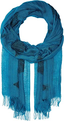 Tencel Organic Cotton Diamond Scarf
