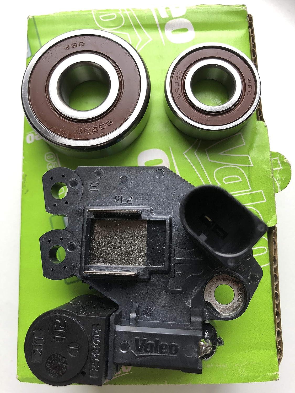 New Alternator Voltage Regulator with Ki Repair Max Ranking TOP4 58% OFF Bearings Brushes