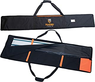 """Rugged Tools Guide Rail Bag - Protective Track Saw Bag For Saw Guide Rails up to 59"""""""