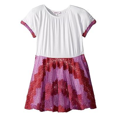 Missoni Kids Lace Lame Rigato Dress (Toddler/Little Kids) (Pink) Girl