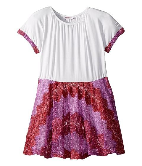 Missoni Kids Lace Lame Rigato Dress (Toddler/Little Kids)