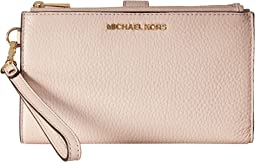 4e8dd4403ef6 MICHAEL Michael Kors. Double Zip Wristlet.  78.59MSRP   118.00. 4Rated 4  stars4Rated 4 stars. Soft Pink