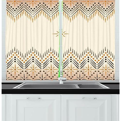 Vintage Kitchen Curtains Amazon Com