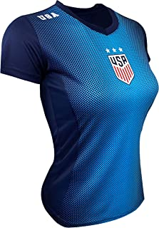 USA Women's Soccer Jersey, Women & Girls Sizes,Official...