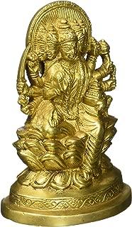 Kapasi Handicrafts Brass Goddess Gayatri MATA Idol Statues