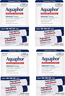 Aquaphor Advanced Therapy Healing Ointment Skin Protectant, qSMwdk 8-.35 Ounce Tubes