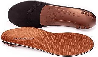 Superfeet COPPER, Memory Foam Comfort plus Support Anti-fatigue Replacement Insoles, Unisex, Copper